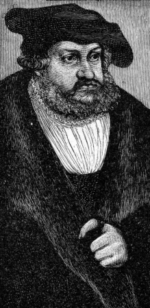 elector: Frederick III of Saxony  1463 -1525 , also known as Frederick the Wise  German  Friedrich der Weise  , Elector of Saxony and protector of Martin Luther, from an engraving by Cranach, published in Life of Luther by Julius Kostlin, 1900