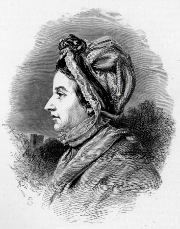 wesley: Susannah Wesley, mother of John, engraving from Selections from the Journal of John Wesley, 1891 Editorial