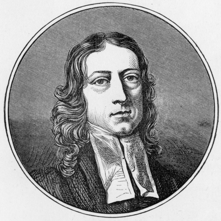 wesley: John Wesley portrait, engraving from Selections from the Journal of John Wesley, 1891