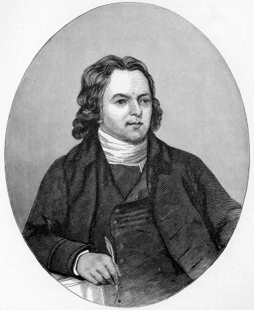 Thomas Coke (9 September 1747 – 2 May 1814) first Methodist Bishop, known as the Father of Methodist Missions, engraving from Selections from the Journal of John Wesley, 1891