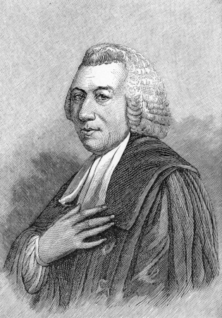 wesley: Hugh Blair (1718 - 1800) Scottish minister of religion, author and rhetorician, considered one of the first great theorists of written discourse; engraving from Selections from the Journal of John Wesley, 1891 Editorial
