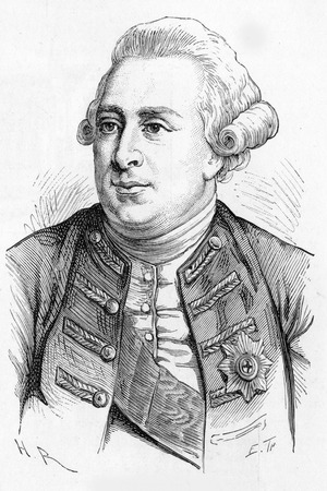 wesley: George III (George William Frederick;1738 - 1820) King of Great Britain and King of Ireland, engraving from Selections from the Journal of John Wesley, 1891