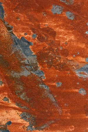 rusted background: grunge background of rusted metal sheet Stock Photo