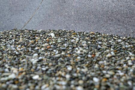 west  coast: BAckground of smooth rocks found on  a West Coast beach, South Island, New Zelaand