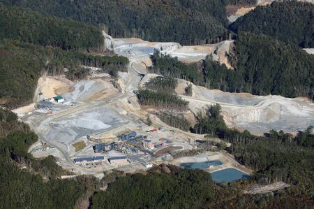 oceana: Oceana Gold Globe Progress Gold Mine, Westland, New Zealand