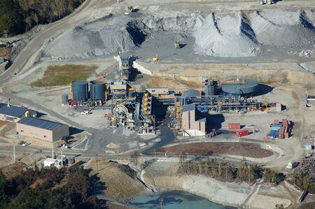Ore concentration facilities at Oceana Gold Globe Progress Gold Mine, Westland, New Zealand Redakční