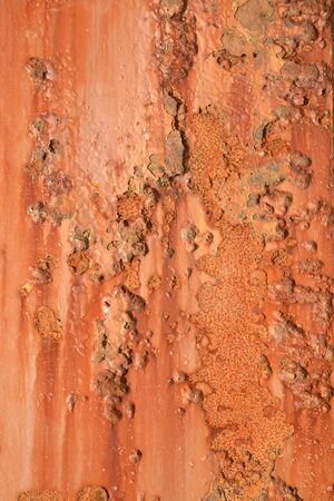 rusted: grunge background of rusted metal beam