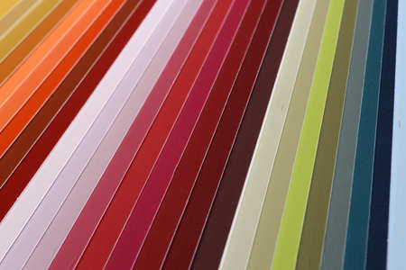 paint swatch: background of selected colours in a paint swatch