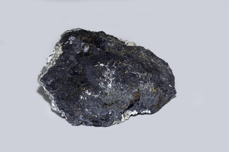 A specimen of galena, an ore of lead