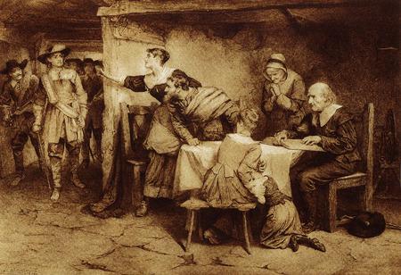 Scottish Covenanters werden von den Behörden verfolgt, weil sie ihren Glauben gegen die Regeln der Staatskirche aufrechterhalten.
