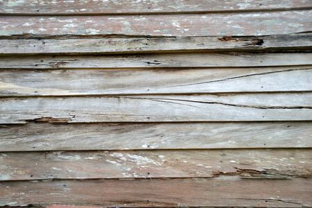 old weatherboards on an historic building create a rustic textured background Фото со стока