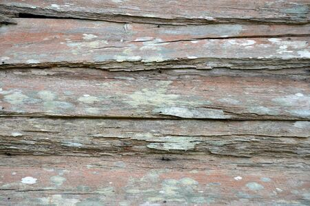 old weatherboards on an historic building create a textured background