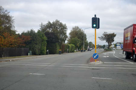 CHRISTCHURCH, NEW ZEALAND, MARCH 31, 2020; The normally busy streets of Christchurch are largely deserted during the Covid 19 lockdown in New Zealand, March 2020