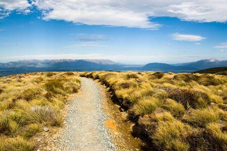 kepler: View from kepler track, fiordland, new zealand