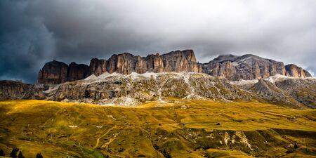 sella: Sella mountain range, dolomites, italy Stock Photo