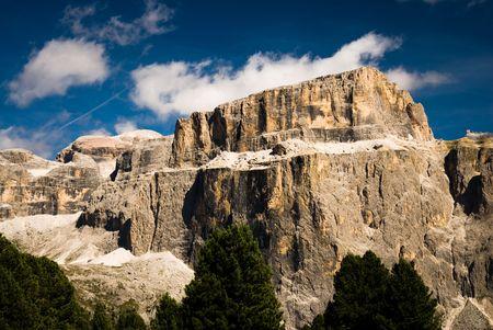 sella: sella mountain range, dolomites, italy