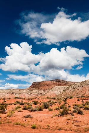 vertica: scenic view of sandstone cliffs in utah, usa
