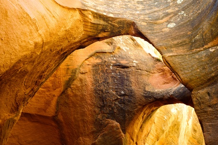 Peek-A-Boo slot canyon, Hole in a Rock road, Grand Staircase National Monument, Utah, USA photo