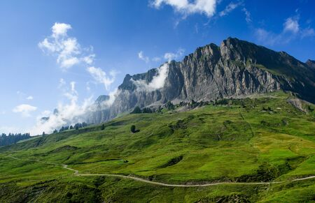 glarus: Mountain scenery on Pragelpass, Glarus, Switzerland