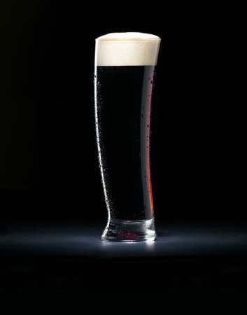 dark: dark beer