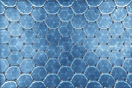 chemic: Chemical Illustrazione Sfondo Structure. Materiale struttura molecolare.