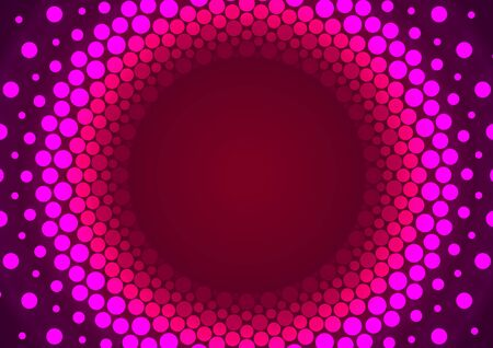 an orbit: Pink Particles Orbit Abstract Background Illustration. Stock Photo