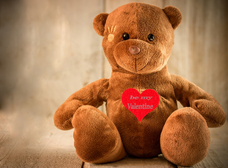 cute teddy bear for valentines day