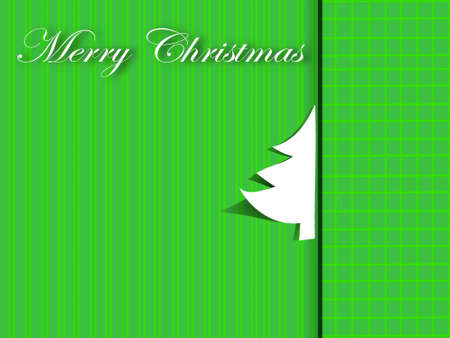 streaked: christmas greeting card - streaked and chequered background