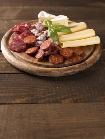 rustic: appetizer in rustic style Stock Photo