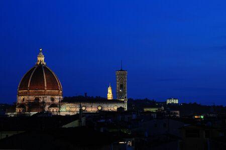 Basilica di Santa Maria del Fiore - Florences Duomo Stock Photo