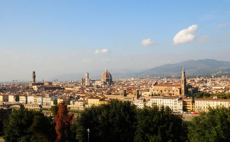 Florence landscape Stock Photo