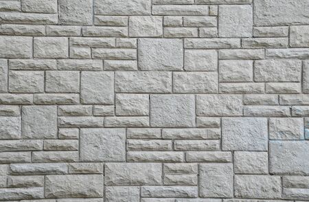 detail shot of a stone clad wall photo
