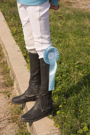 uomo a cavallo: black leather horseman boots