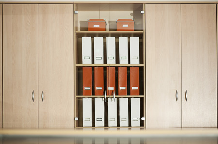 office cabinet: office filing cabinet with shelves