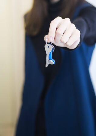 transfer of apartment keys to new tenants, rent or purchase an apartment.