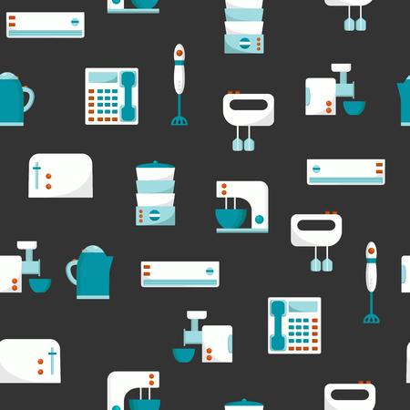 home appliances: Fondo incons�til con los aparatos electrodom�sticos para su dise�o