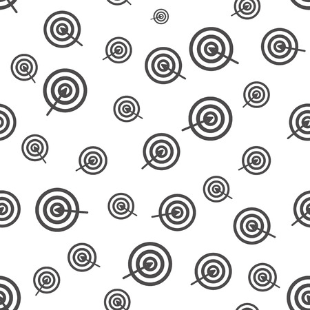 targets: Seamless background with targets for your design Illustration