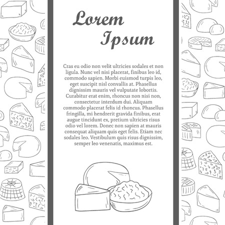 edam: cheese concept with seamless background