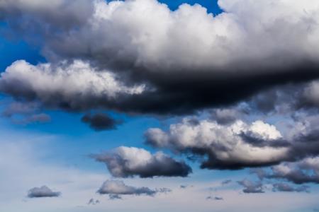 A lot of Amazing cumulus clouds, Canada