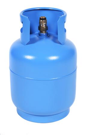 blue gas balloon photo