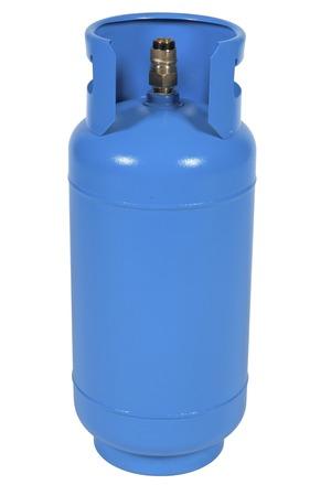blue gas balloon