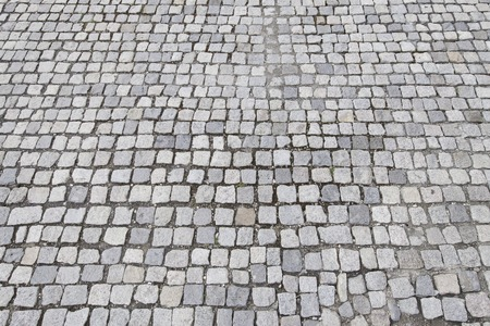cobblestone surface