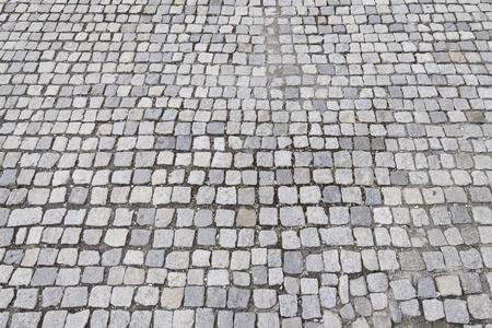 cobblestone surface Stockfoto