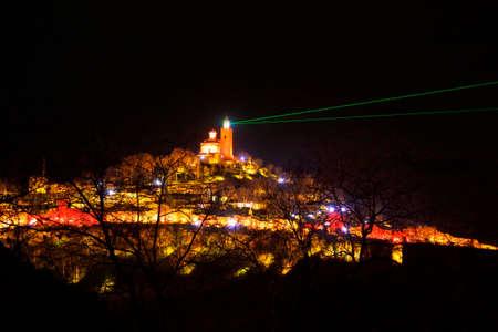 veliko: Tsarevets Fort in Veliko Turnovo, Bulgaria.