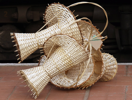 Empty baskets photo