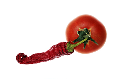 tomatto: spicy red pepper and tomatto