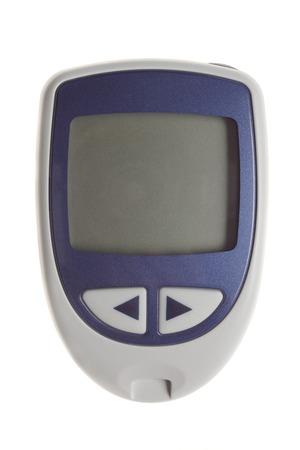 Diabetes equipment - Blood Sugar Test Stockfoto