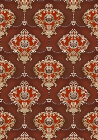 red and gold: wallpaper, Red gold ornament