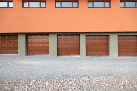 housing lot: home storage doors front