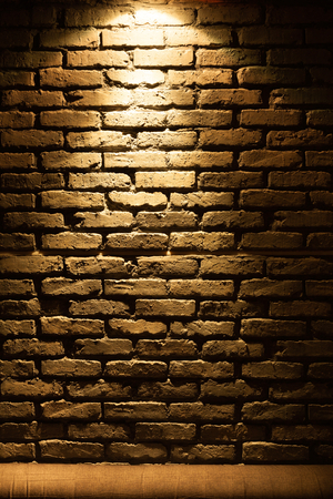 stonemason: Old type brick wall texture front face with local lighting